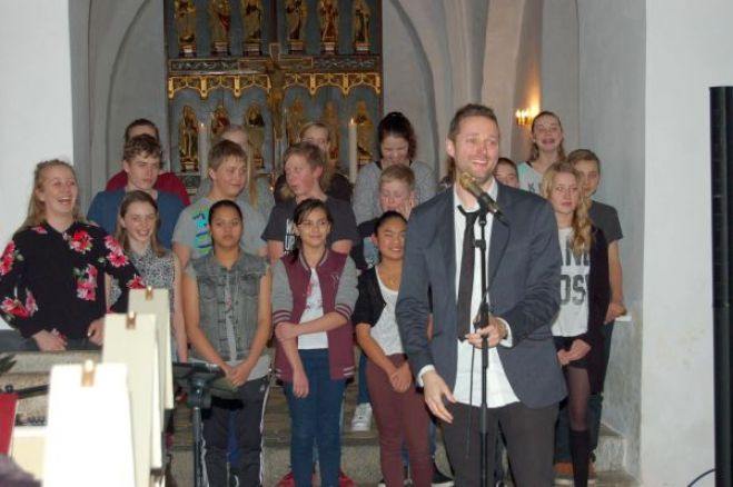 Konfirmand-Gospel i Fur Kirke