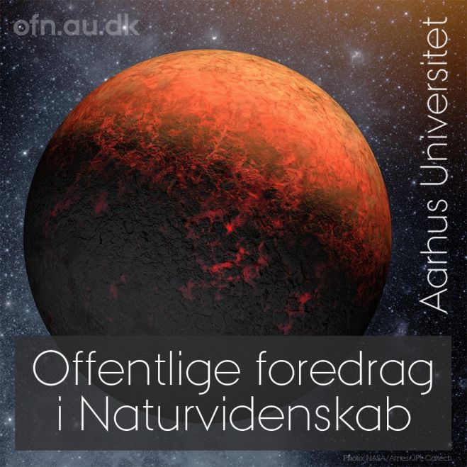 "Offentligt foredrag på Fur Museum – ""Hunting exoplanets and life in the Universe"""