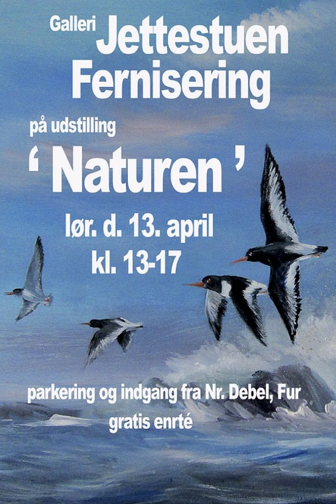 Udstilling i Jettestuen - fernisering den 13. april