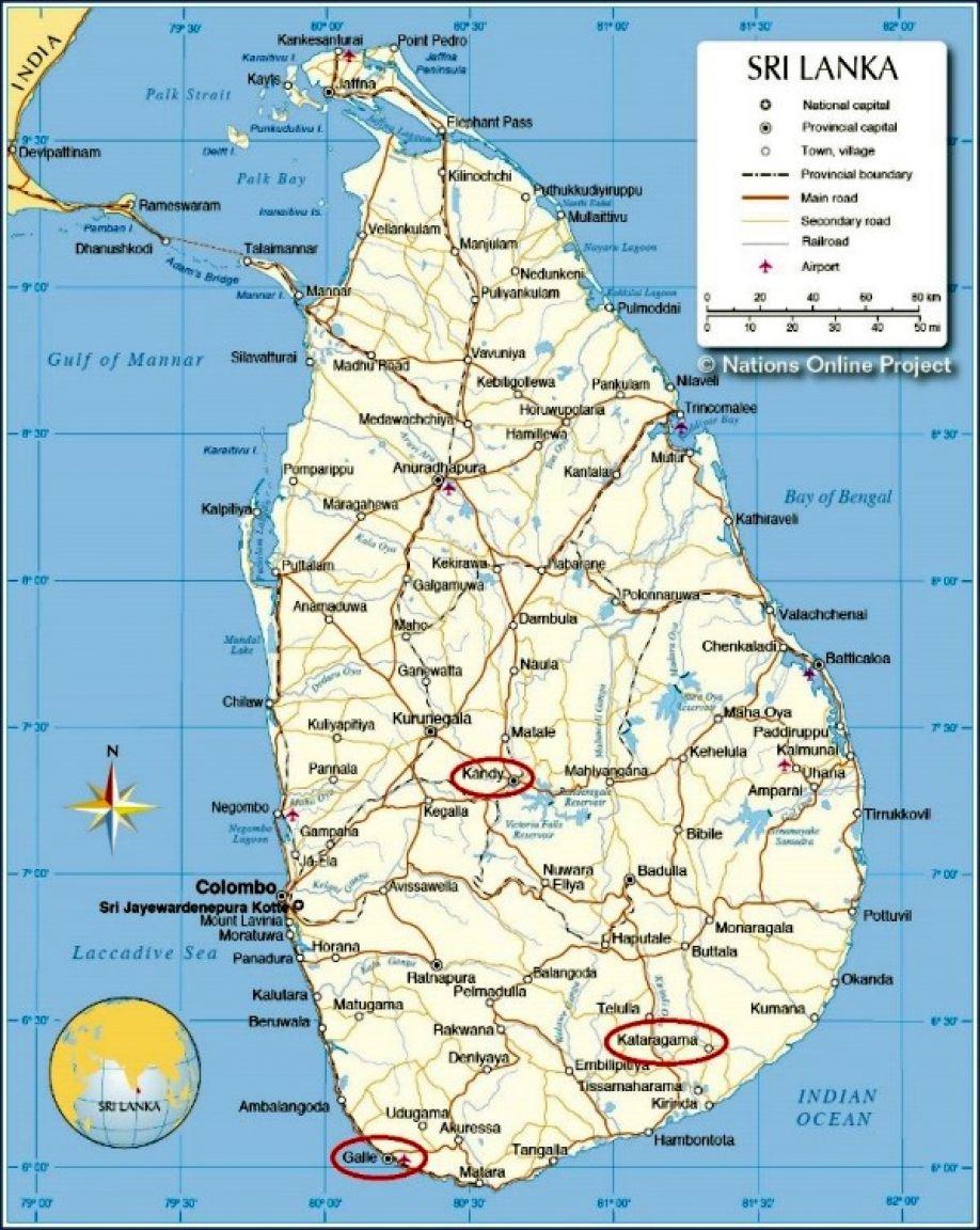 Sri Lanka Guf For En Religionsvidenskaber